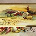 Thanksgiving Card, C1910 by Granger