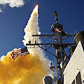 The Aegis-class Destroyer Uss Hopper by Stocktrek Images