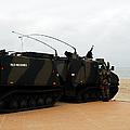 The Bandvagn Bvs10 Viking Used by Luc De Jaeger
