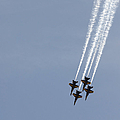 The Blue Angels Perform Aerial by Stocktrek Images