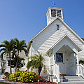 The Community Chapel Of Melbourne Beach Florida by Allan  Hughes