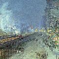 The El by Childe Hassam