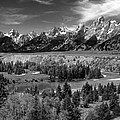 The Grand Tetons And The Snake River by Ken Smith