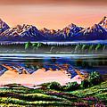 The Grand Tetons by Phil Koch