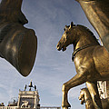 The Horses On The Basilica San Marcos by Jim Richardson
