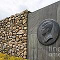 The John F. Kennedy Memorial At Veterans Memorial Park In Hyanni by Matt Suess