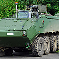 The Piranha IIic Of The Belgian Army by Luc De Jaeger