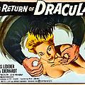 The Return Of Dracula, Francis Lederer by Everett