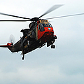 The Sea King Helicopter In Use by Luc De Jaeger