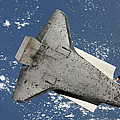The Underside Of Space Shuttle by Stocktrek Images