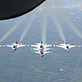 The U.s. Air Force Thunderbird by Stocktrek Images