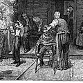 The Village Barber, 1883 by Granger