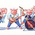 Thin Piggy by Debbie  Diamond