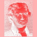 Thomas Jefferson In Negative Red by Rob Hans