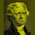 Thomas Jefferson In Yellow by Rob Hans