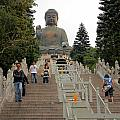Tian Tan Buddha by Valentino Visentini