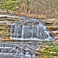 Top Of The Upper Falls by Shirley Tinkham