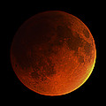 Total Lunar Eclipse by Eckhard Slawik