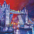 Tower Bridge London by Patricia Clements