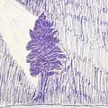 Tree In Moonlight by Kristin Davis