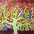 Kazaksha Tree Of Life by Alice M Lentesco