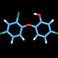 Triclosan Antibiotic Drug Molecule by Dr Tim Evans