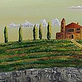 Tuscan Guest House by Paintings by Parish