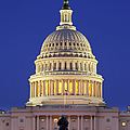 Twilight Over Us Capitol by Brian Jannsen