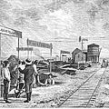 Underground Village, 1874 by Granger