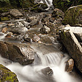 Unnamed Waterfall Along South Tongass by Matthias Breiter