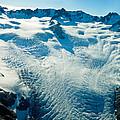 Upper Level Of Fox Glacier In New Zealand by U Schade