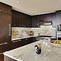 Upscale Kitchen Interior by Andersen Ross