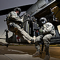 U.s. Air Force Crew Strapped by Terry Moore
