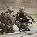 U.s. Marines Prepare A Fragmentation by Terry Moore