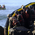 U.s. Navy Seal Candidates Participate by Stocktrek Images