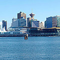 Vancouver Bc Waterfront Skyline Panorama. by Gino Rigucci