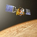 Venus Express Mission, Artwork by David Ducros