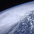 View From Space Of Hurricane Irene by Stocktrek Images