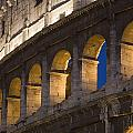 View Of The Roman Coliseum In Rome by Axiom Photographic