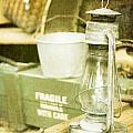 Vintage Lamp by Tom Gowanlock