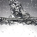 Water, High-speed Photograph by Crown Copyrighthealth & Safety Laboratory