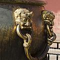 Water Vessel At Forbidden City by Terri Winkler