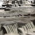 Waterfalls With Fresh Snow Thunder Bay by Susan Dykstra
