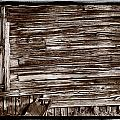 Weathered Wall In Bodie Ghost Town by Steve Gadomski