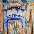 Window From Santiago by Kandyce Waltensperger