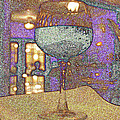 Wine Glass by Michael Merry
