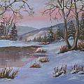 Winter In The Country by Mark Perry