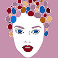 Woman In Fashion by Frank Tschakert
