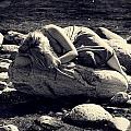 Woman In River by Joana Kruse