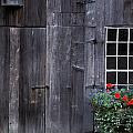 Wooden Building And Window Box by David Chapman